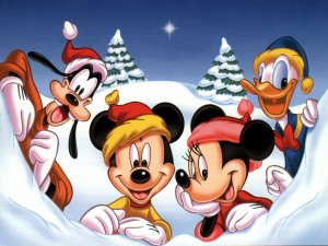 mickey merry christmas xAaK